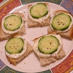 Italian Cucumber Sandwiches Recipe