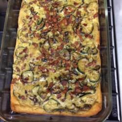 Granny's Italian Zucchini Pie Recipe