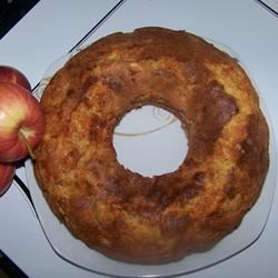 My result -->> APPLE BUNDT CALE