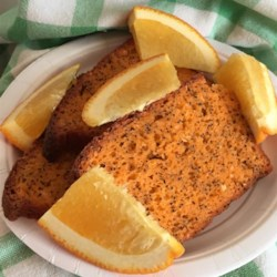 Orange Poppy Seed Bread Recipe