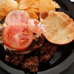 Grilled Bison Burgers Recipe