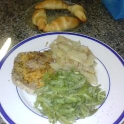 Grandmother's Pork Chop Dinner Recipe
