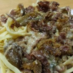 Fresh Fig and Prosciutto Pasta Sauce Recipe