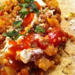 Black Bean and Quinoa Enchilada Bake Recipe
