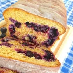Blueberry Anadama Bread Recipe