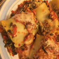 Lasagna Spinach Roll-Ups Recipe