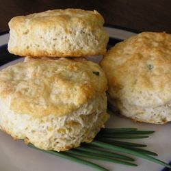 Photo of Chive Cheese Biscuits by Joan  Baskin