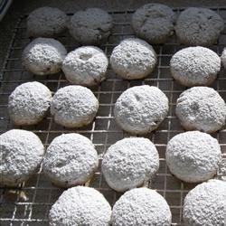 Mexican Weddin Cookies.