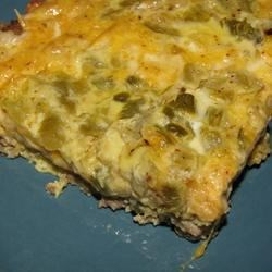 Spicy Sausage Quiche