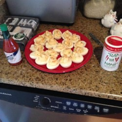 Creamy Cajun Deviled Eggs Recipe