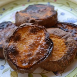 Broiled Sweet Potatoes Recipe