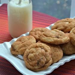 Cranberry Snickerdoodle Cookies