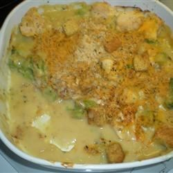 Cheesy Chicken Broccoli Bake Recipe
