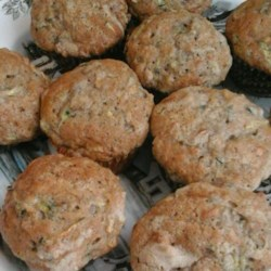 Apple Cinnamon Zucchini Muffins Recipe