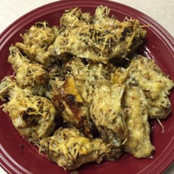 Garlic and Parmesan Chicken Wings Recipe
