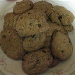 Golden Chocolate Chip Cookie