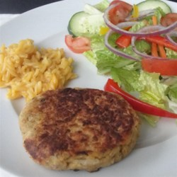 Large Salmon Patties