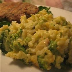 Broccoli Rice Casserole Recipe