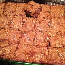 Chocolate Oatmeal Bars Recipe