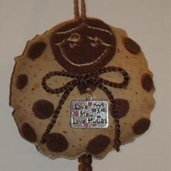 Chocolate Chip Dotee Doll