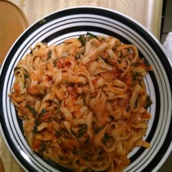 Greek Fettuccine Recipe