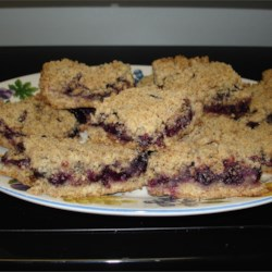 Better then muffins blueberry bars!