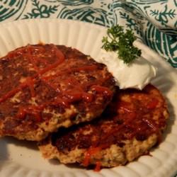 Paleo-ish Salmon Burgers Recipe