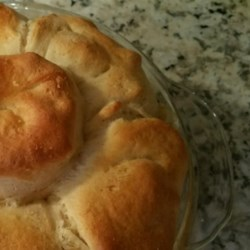 Mom's Fabulous Chicken Pot Pie with Biscuit Crust Recipe
