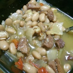 Slow Cooker Pinto Bean Bonanza Recipe — Dishmaps
