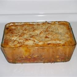 Easy Shepherd's Pie with Garlic Romano Potatoes
