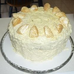 My version of the coconut cream cake!
