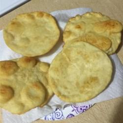 Navaho Indian Fry Bread Recipe