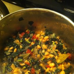 Bean and Kale Ragu Recipe