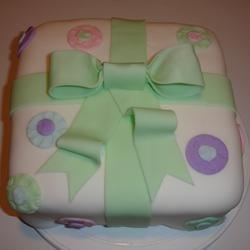 Spring Fondant Cake