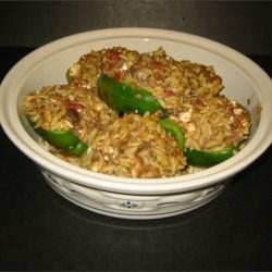 Athenean Stuffed Peppers Recipe