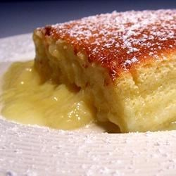 Lemon Custard Pudding Cake Recipe Allrecipes Com