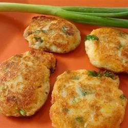 Chapaleles with scallions