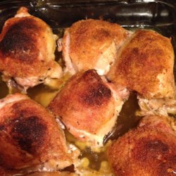Easy Baked Chicken Thighs Recipe