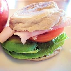 Turkey Avacado Sandwich