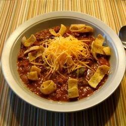 Thats good chili