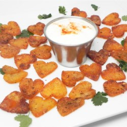 Cajun Potato Wedges Recipe