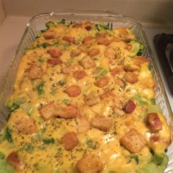 Broccoli Cheese Layer Bake Recipe