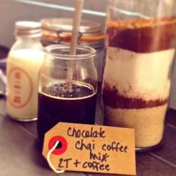 chocolate chai coffee mix printer friendly