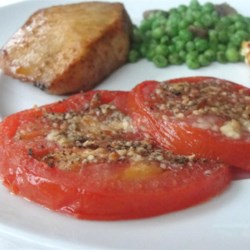 Italian Nutthouse Broiled Tomatoes Recipe