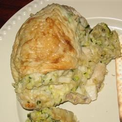 Passover Zucchini-Stuffed Chicken Recipe