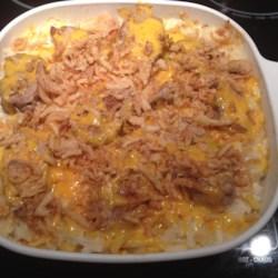 Pork Chop Potato Casserole Recipe