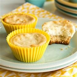 Lemon Goat Cheese Cheesecake Bites (Gluten Free Optional) Recipe ...