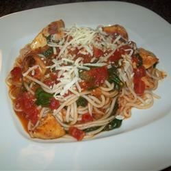 Spaghettini Chicken Recipe