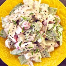 Chicken and Snow Pea Salad Recipe