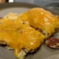 Colette's Smoked Sausage Fritatta Recipe